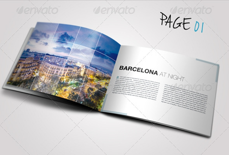 travel business brochure