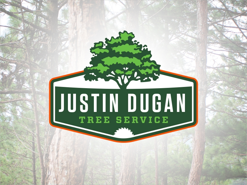 tree service logo design