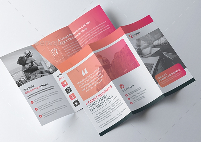 trifold multipurpose brochure