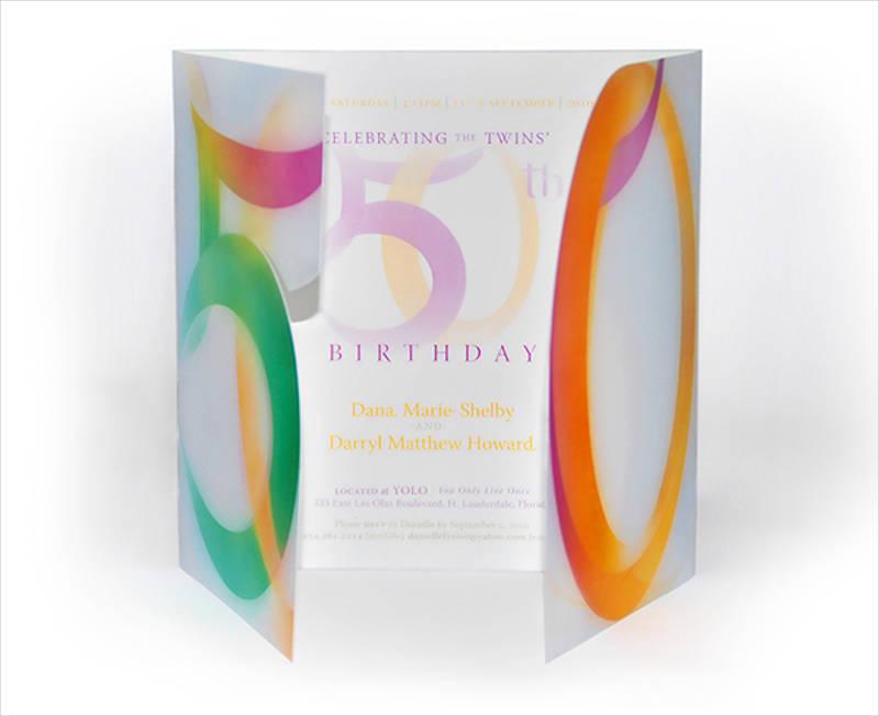 twins 50th birthday invitation1