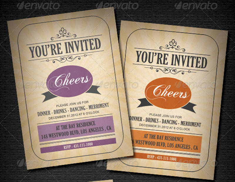 18 Printable Invitation Card Designs And Examples Psd Ai