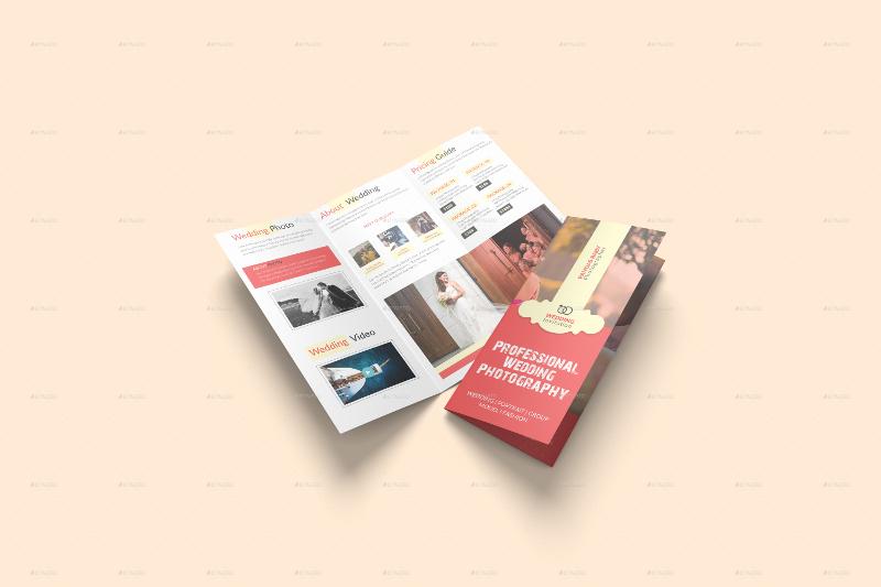 wedding brochure template