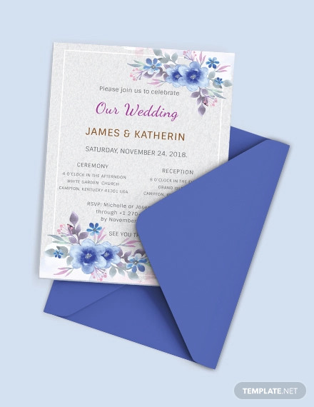 Free 19 Best Wedding Card Invitation Designs Examples In