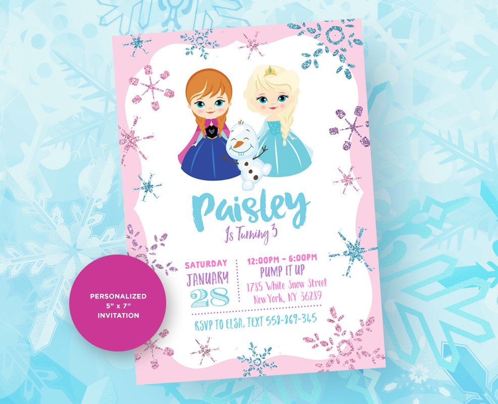 10 frozen party invitation designs examples psd ai vector eps winter frozen party invitation maxwellsz