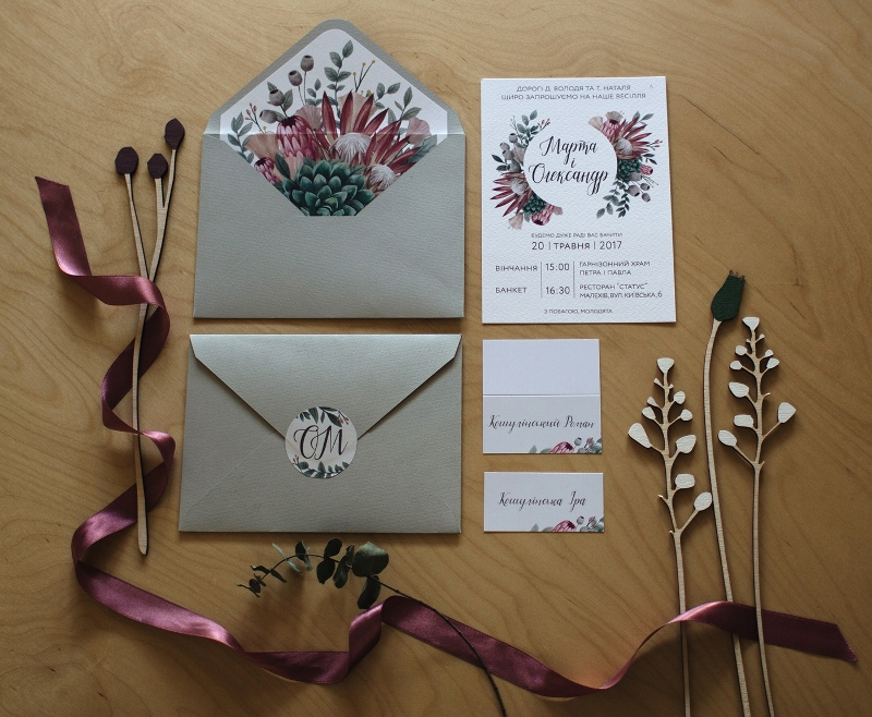 wonderful wedding invitation