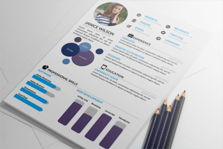 word professional resume portfolio