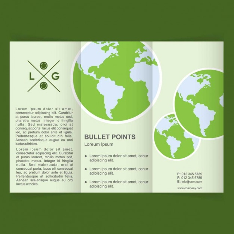 world environment day brochure