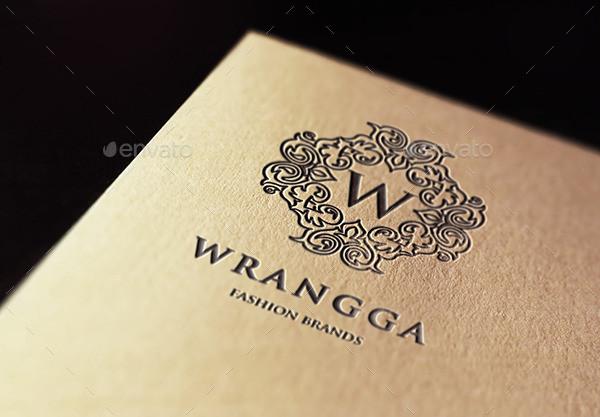 wrangga fashion brand logo