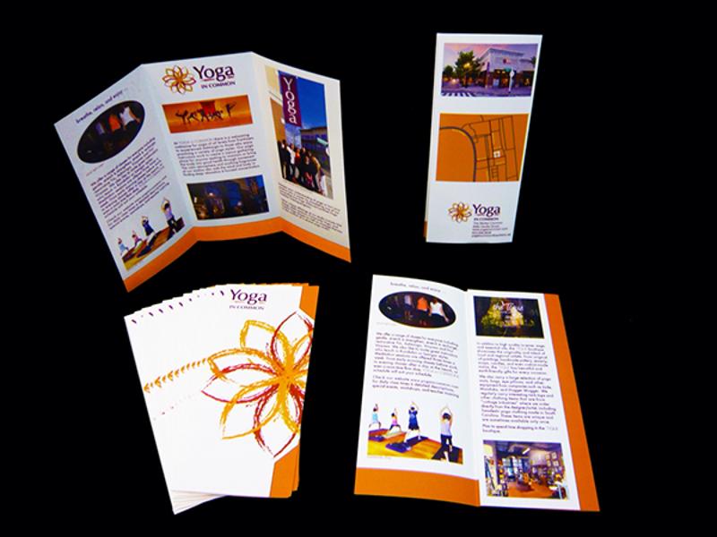 yoga brochure designs