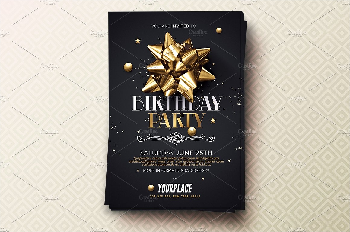 birthday party event