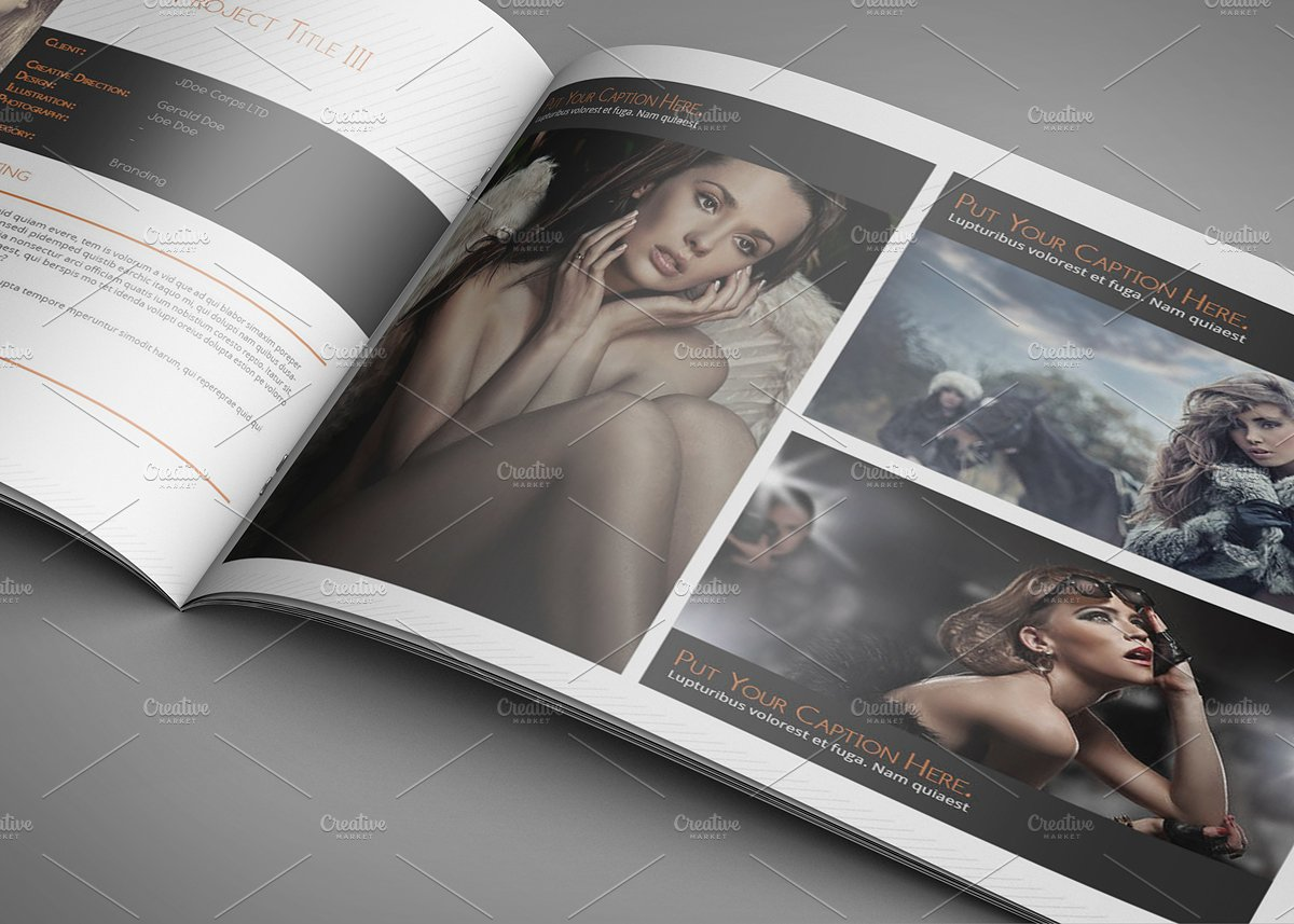 portfolio template a4 landscape by spyros thalassinos 12