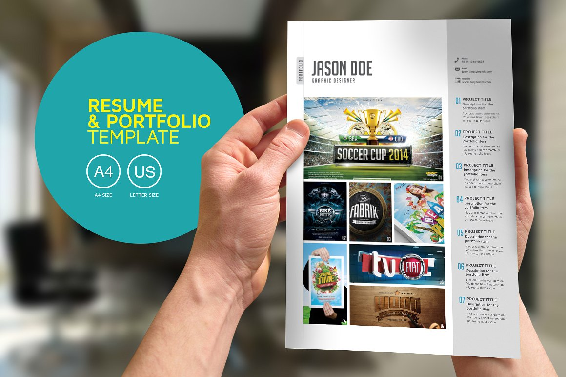 10  professional career portfolio examples in psd