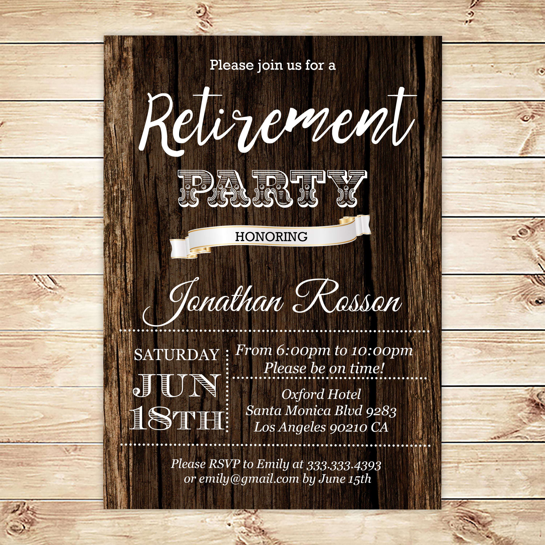 printable retirement