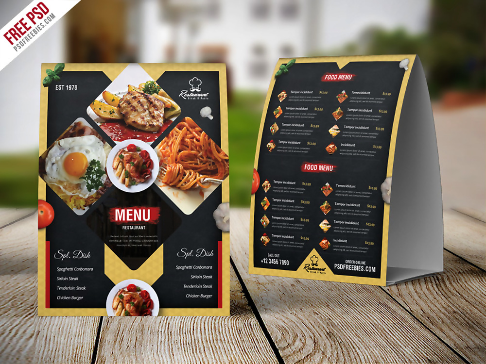 15  psd menu designs  u0026 examples