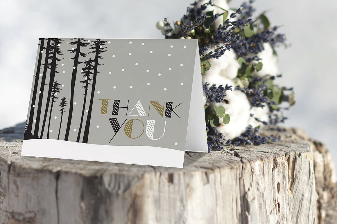 thank you card photos