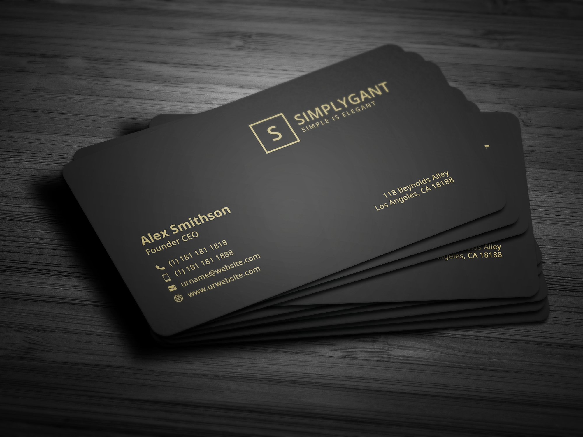 29+ Luxury Business Card Designs & Examples - PSD, AI, Vector EPS