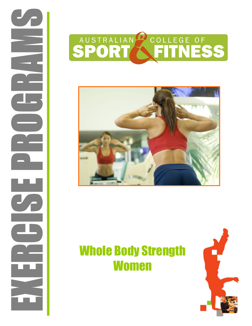 10 Whole Body Strength Women