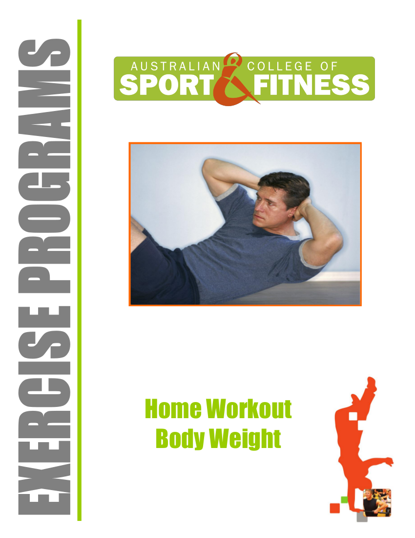 11 Home Workout body weight