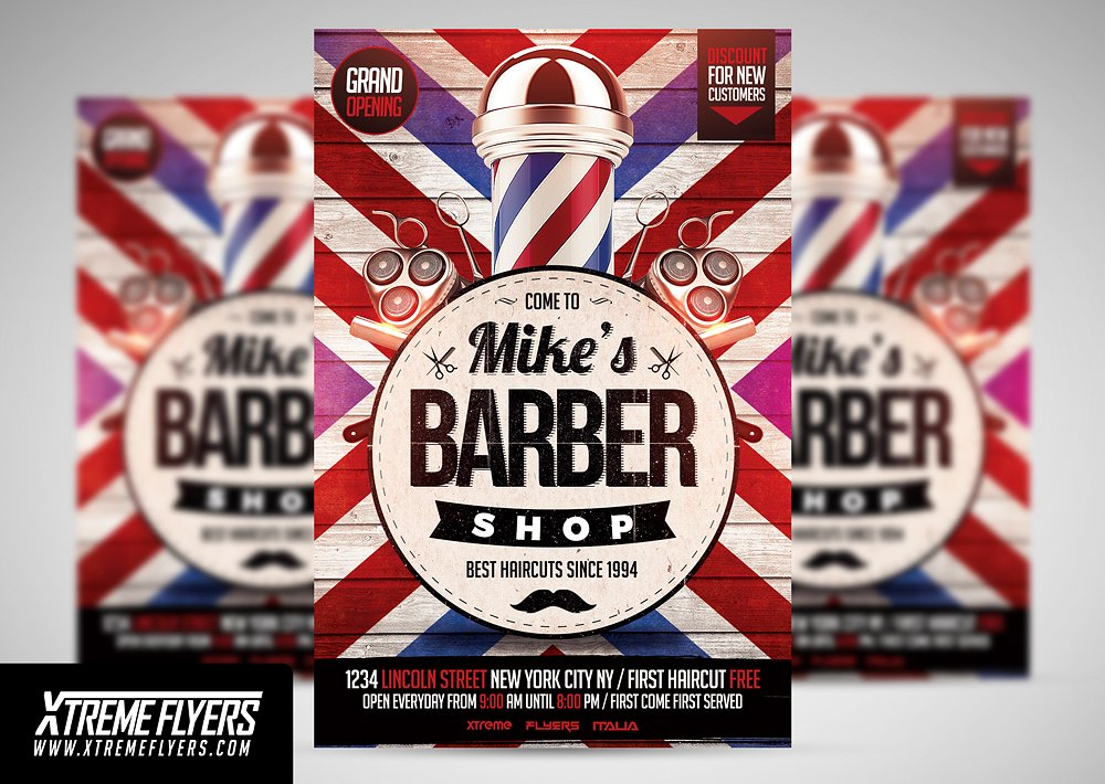 Beauty Salon Flyer Designs  Examples  Psd Ai Vector Eps