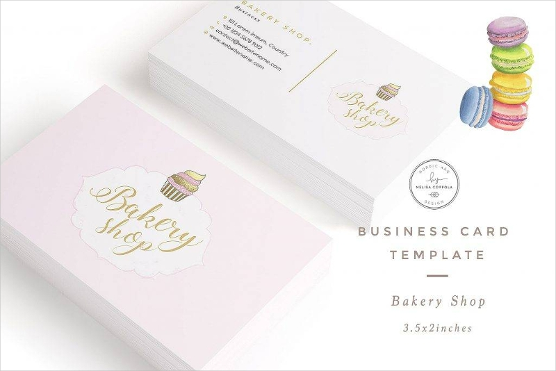 16 bakery business card designs examples psd ai vector eps bakery shop business card template reheart