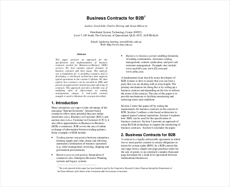 business contract template1
