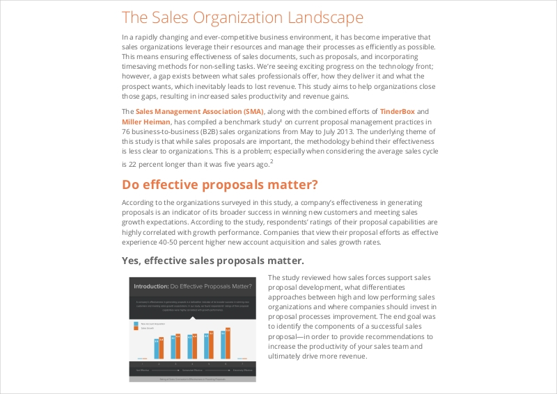 business organization sales proposal1