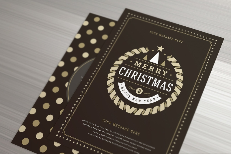 christmas invitation greeting card1