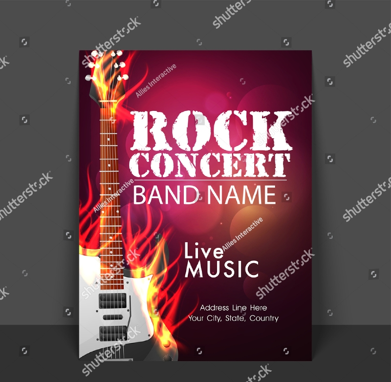 14 concert flyer designs examples psd ai vector eps. Black Bedroom Furniture Sets. Home Design Ideas