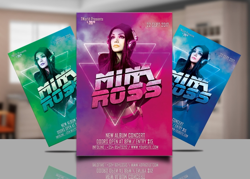DJ Concert Flyer