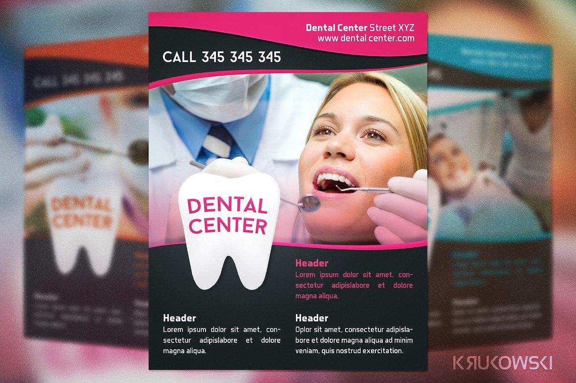 dental center flyer