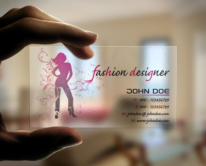 fashion designer business card