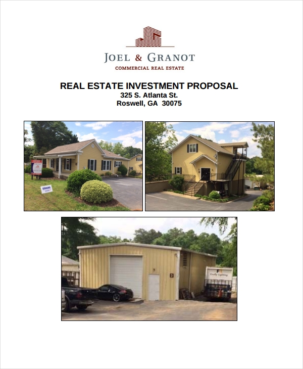 free real estate investment proposal1