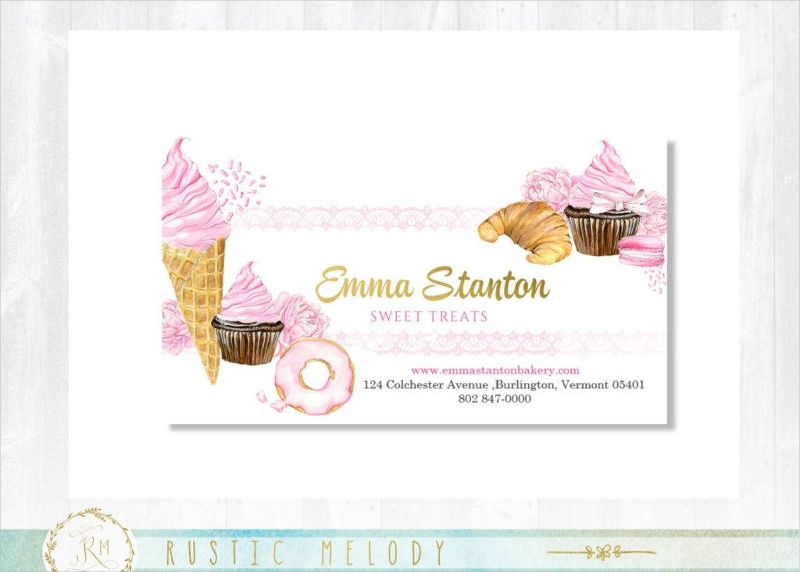 16 bakery business card designs examples psd ai vector eps gold business card colourmoves