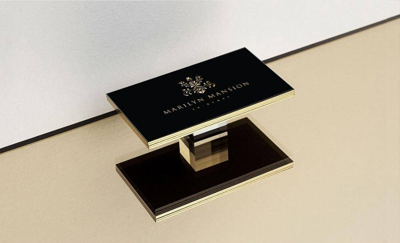 luxury printing business card 1