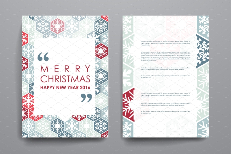 merry christmas brochure