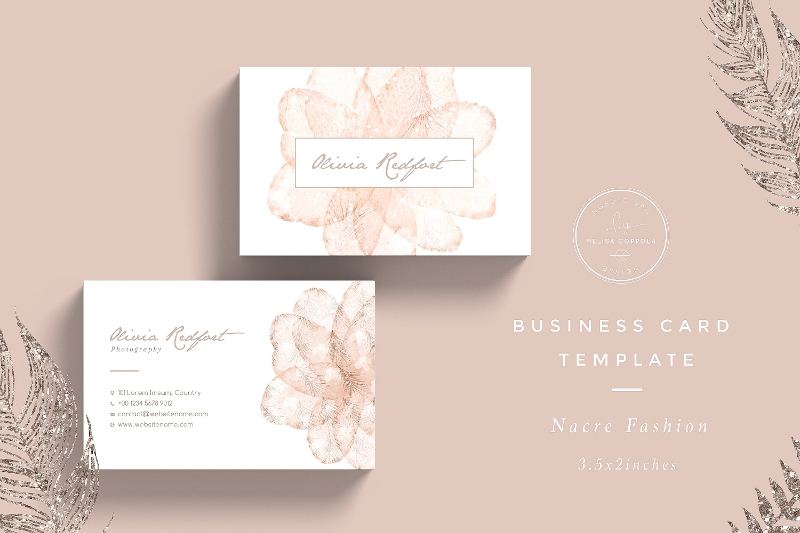 modern fashion business card