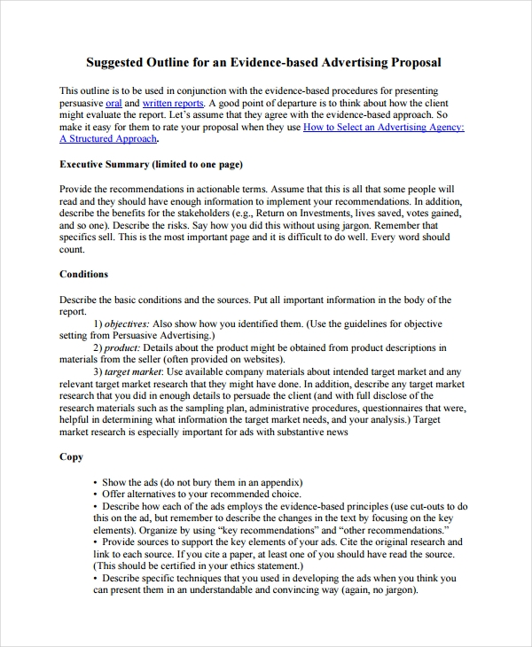 outline proposal