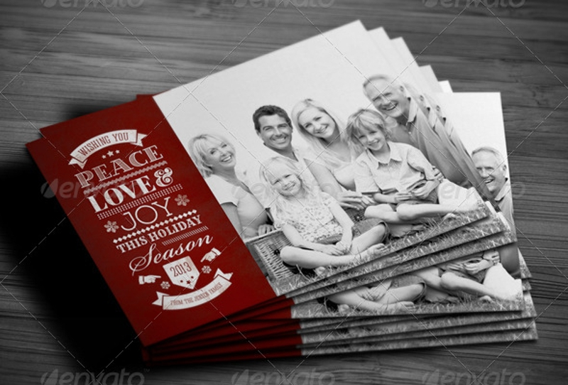 personalized holiday greeting card1