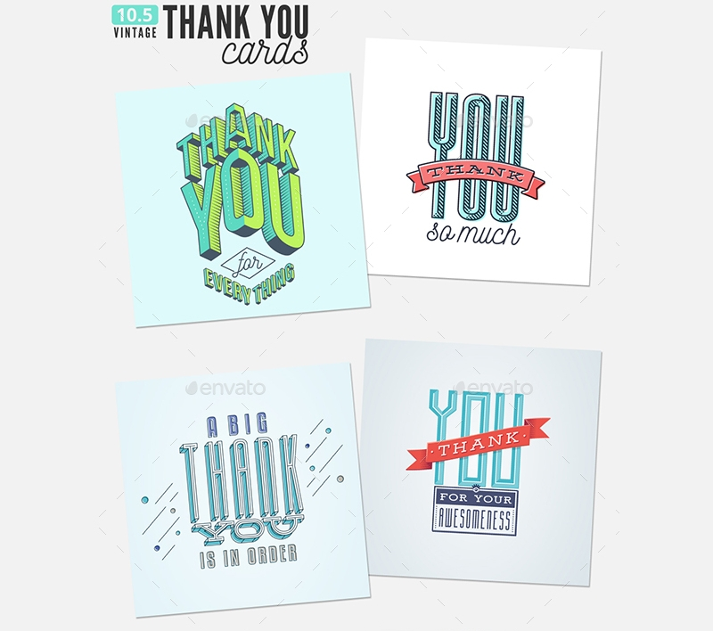 printable thank you greeting cards