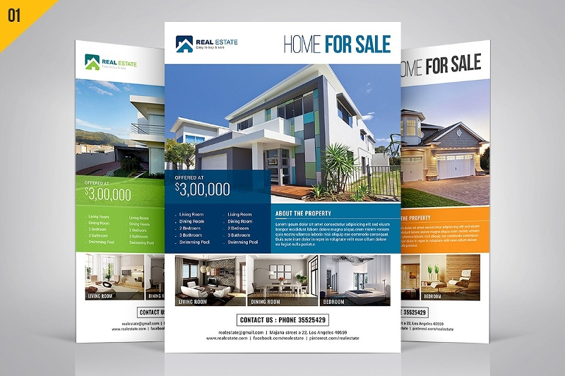 real estate marketing flyer