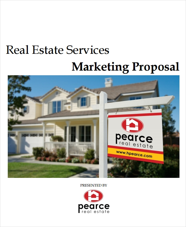 real estate marketing proposal