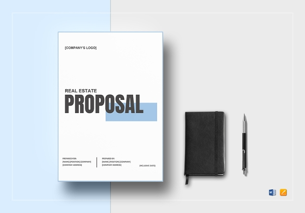 Real Estate Proposal Template | 10 Real Estate Proposal Examples Pdf Doc Pdf Ai Examples