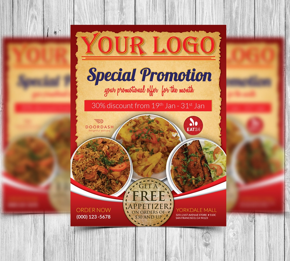 restaurant promotion flyer1
