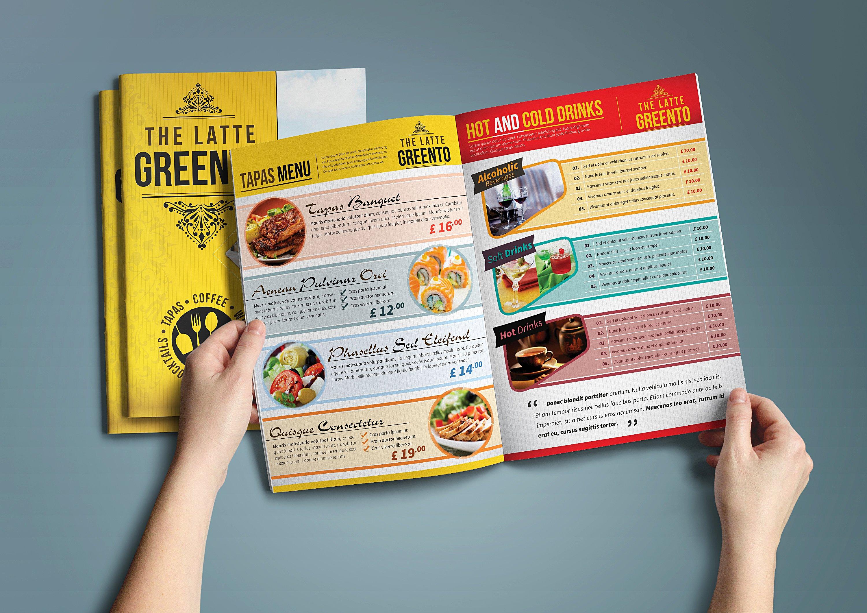 restaurant special menu catalog