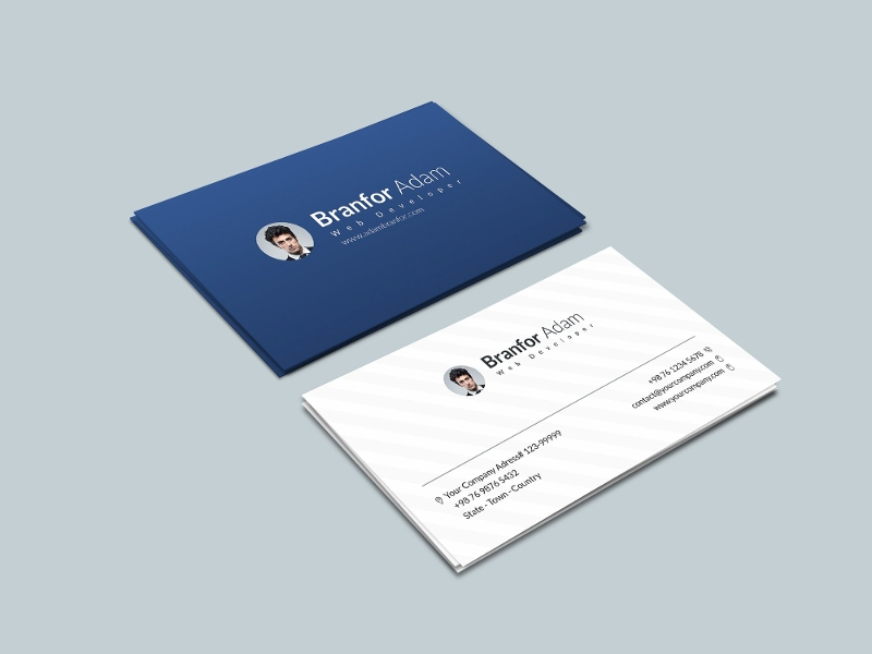 social marketing business card