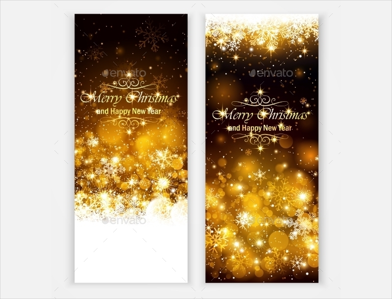 sparkling christmas greeting card