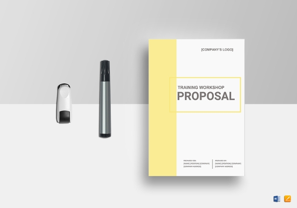 training workshop proposal template