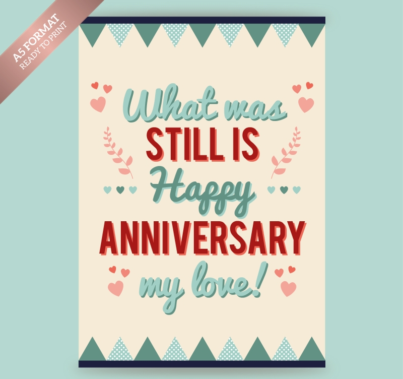 14 examples of anniversary greeting cards vintage anniversary greeting card m4hsunfo Images