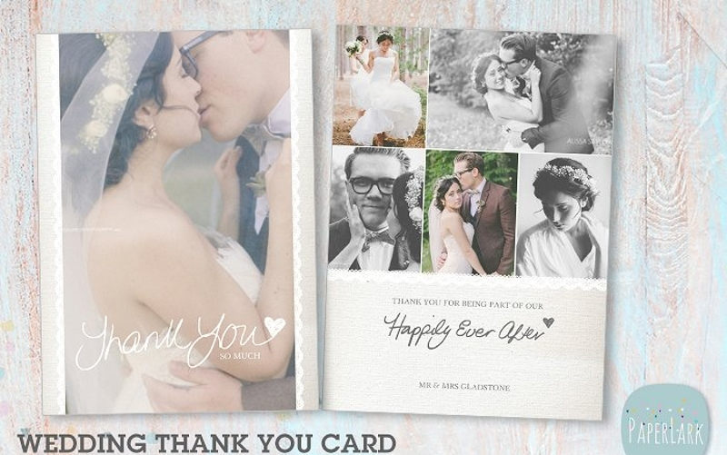 wedding thank you greeting card1