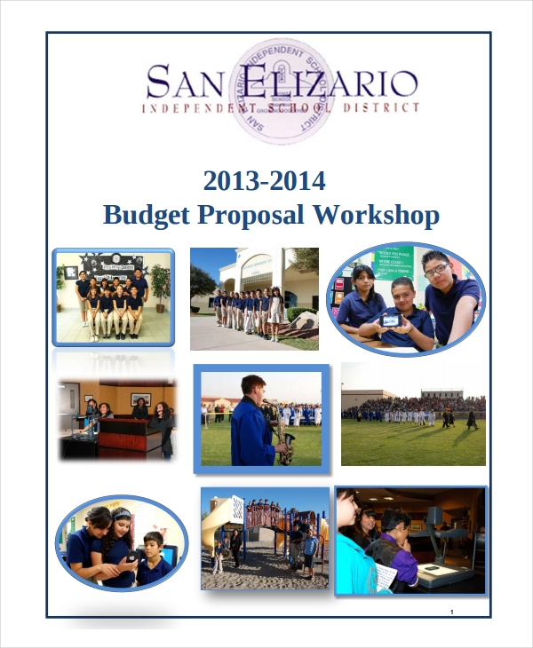 workshop budget proposal